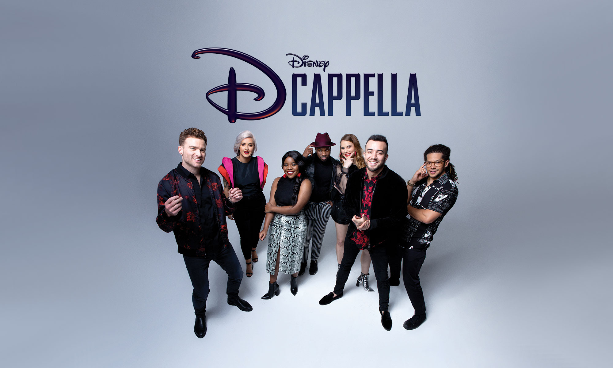 Who is part of the DCappella cast?